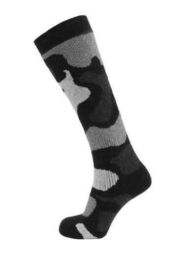 Panthzer  Snowboard Socks Siyah/Antrasit Renkli